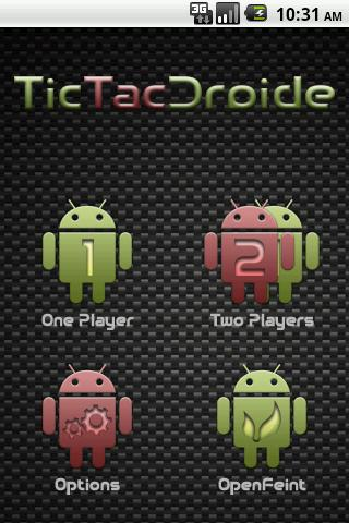TicTacDroide Android Brain & Puzzle
