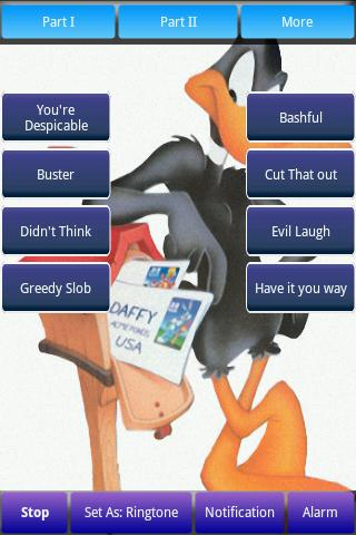 Daffy Duck Ringtones Android Brain & Puzzle