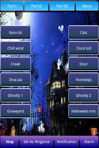 Halloween Sounds & Ringtones Android Casual