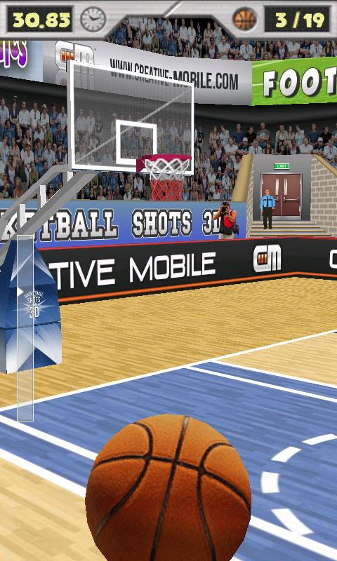 Basketball Shots 3D (ad-free) Android Sports Games