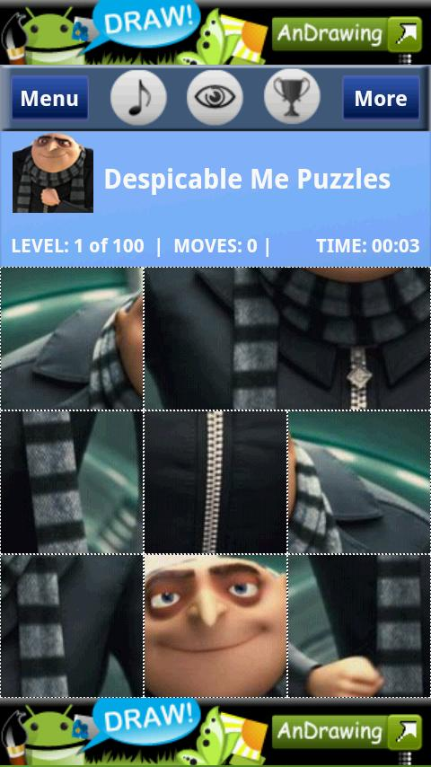 Despcable Puzzles Android Brain & Puzzle