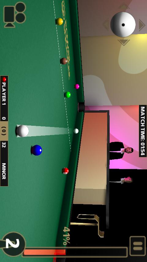 POWER SNOOKER Android Sports Games
