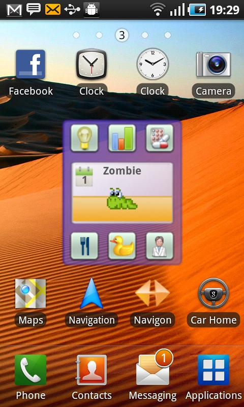 Droid Pet Widget Android Casual