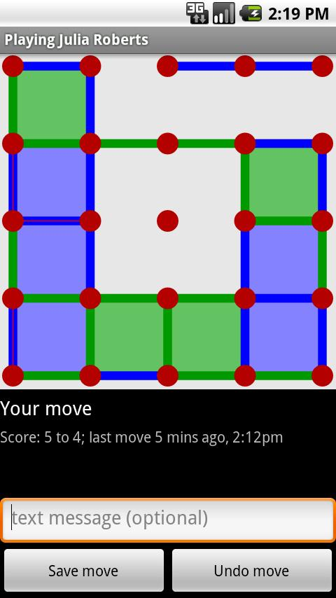 Dots & Boxes Phone-to-Phone Android Brain & Puzzle