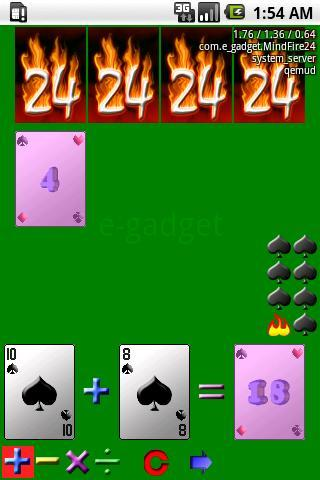MindFire24(24 points, paid) Android Cards & Casino
