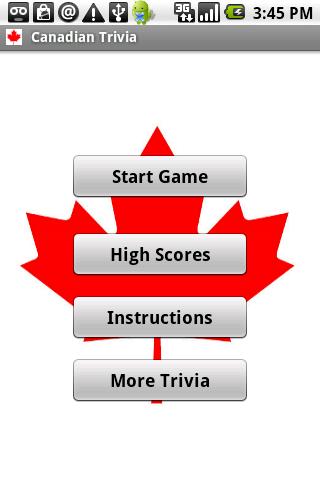 Canada Trivia Android Brain & Puzzle