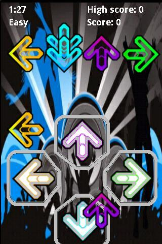 Finger Dance Revolution Android Arcade & Action