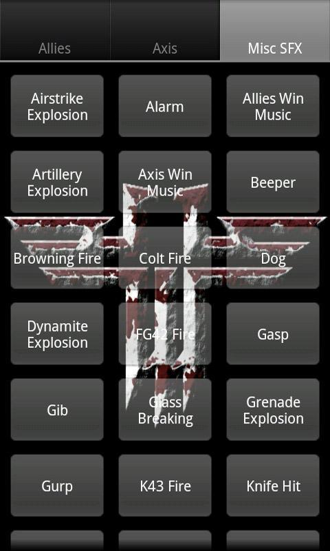 Wolfenstein ET Soundboard Android Arcade & Action