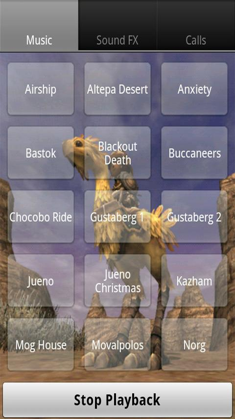 Final Fantasy XI Soundboard Android Arcade & Action