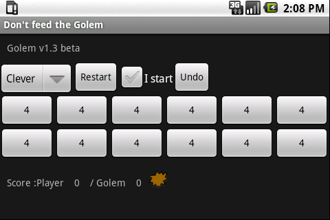 Don't feed the golem Android Brain & Puzzle