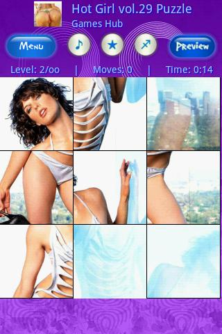Hot Girl Vol.29 Puzzle Android Brain & Puzzle