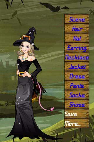 Dress:Halloween Girl Android Arcade & Action
