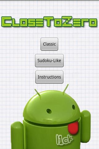 Close to Zero Android Brain & Puzzle