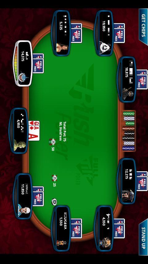 Full Tilt Poker Rush Mobile Android Cards & Casino