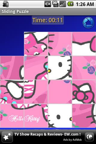 Hello Kitty – Slide Puzzle Android Brain & Puzzle