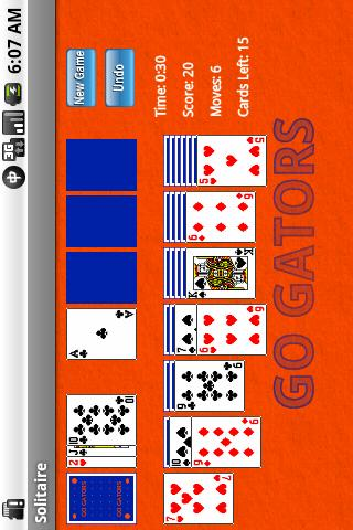 College Themed Solitaire Android Cards & Casino