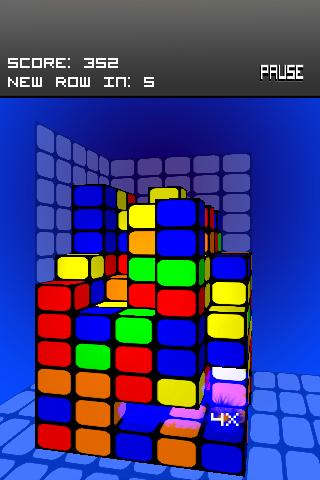 Cube Tower Android Brain & Puzzle