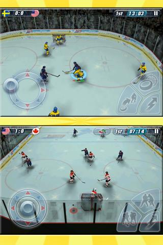 Hockey Nations 2010 Android Arcade & Action