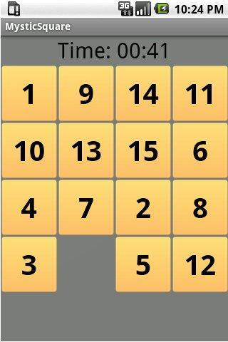 MysticSquare Android Brain & Puzzle
