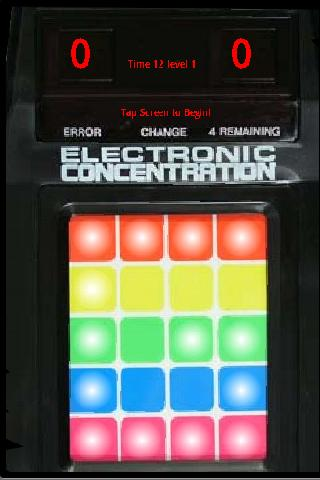 Electronic Cencentration Android Brain & Puzzle