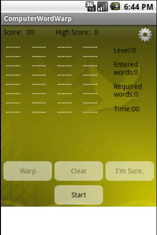 Computer Text Twist Android Brain & Puzzle