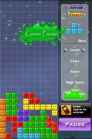 Classic Tetris -Full Android Arcade & Action