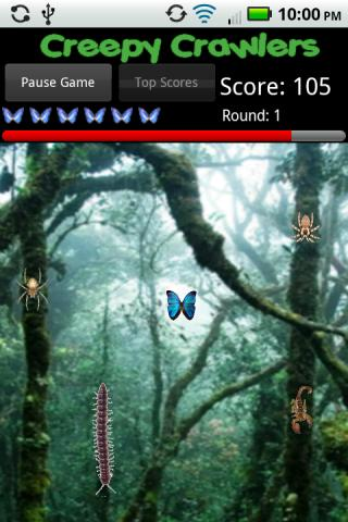 Creepy Crawlers Android Arcade & Action
