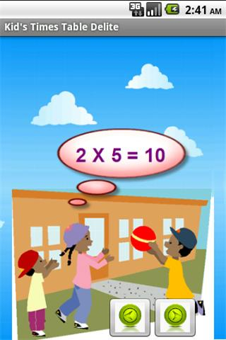 Math – Times Table Delite Android Brain & Puzzle
