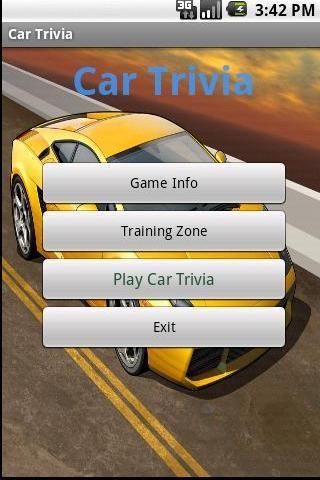Car Trivia Premium Android Brain & Puzzle