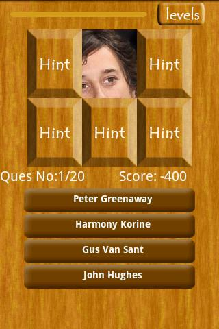 Director Picture Trivia Android Brain & Puzzle