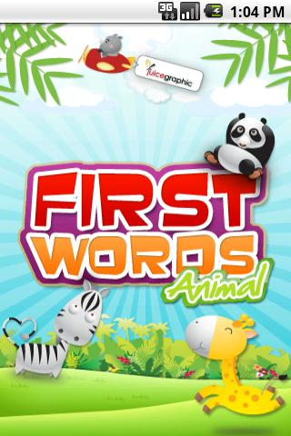 First Words Animal Android Brain & Puzzle