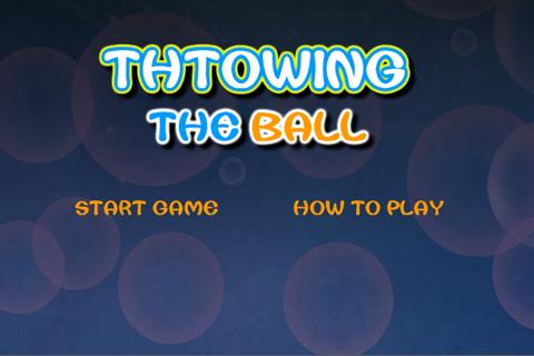 Toss the ball Android Brain & Puzzle