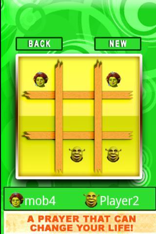 Shrek Tic Tac Toe Android Brain & Puzzle