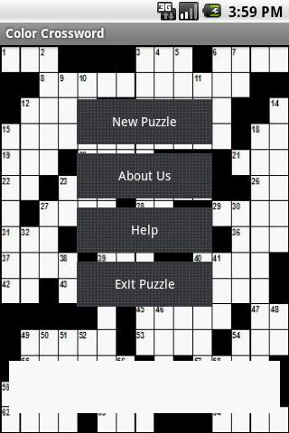 Color Crossword Android Brain & Puzzle