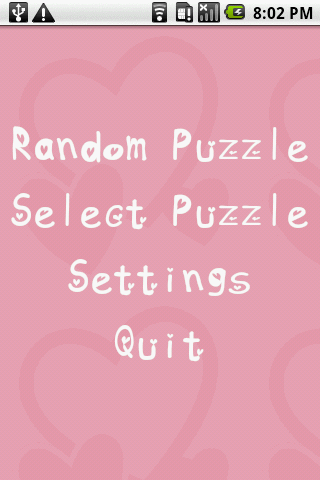 Valentine's Day Puzzles Android Brain & Puzzle