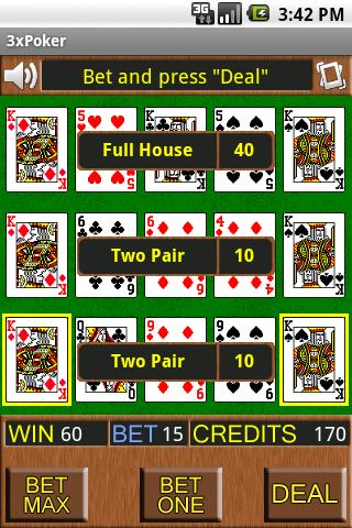3X Poker Android Cards & Casino