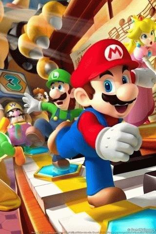 Super Mario Game Wallpaper HD Android Cards & Casino
