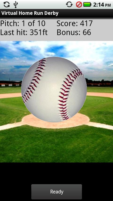 Virtual Home Run Derby Android Casual