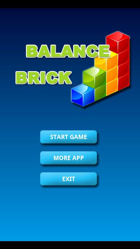 balance brick(3D) Android Arcade & Action