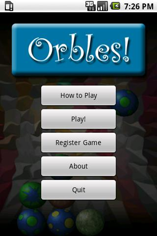 Orbles Demo Android Brain & Puzzle