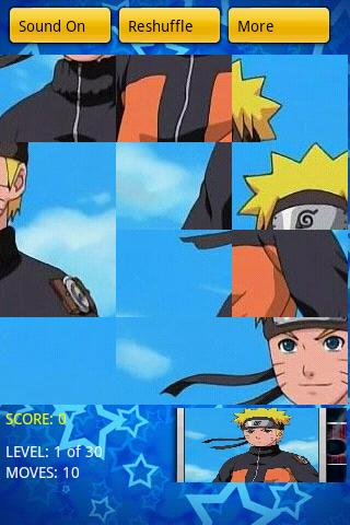 Naruto Puzzle Android Casual