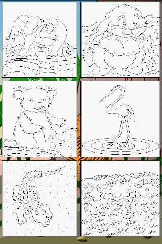 Animals Coloring Pages Lite Android Casual