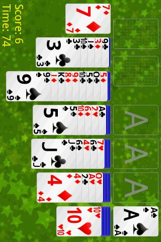 Russian Cell Solitaire Android Cards & Casino