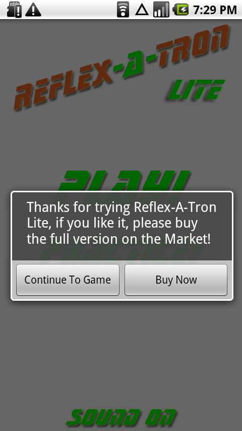 Reflex-A-Tron Lite Android Casual