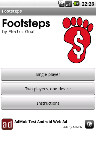 Footsteps Android Casual