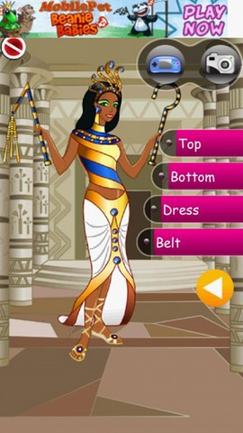 Egypt Girl Dressup Android Casual