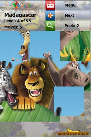 Madagascar Puzzle : Jigsaw Android Brain & Puzzle