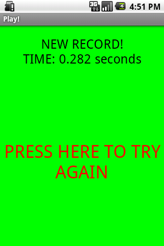 Test Your Reflexes! Android Casual