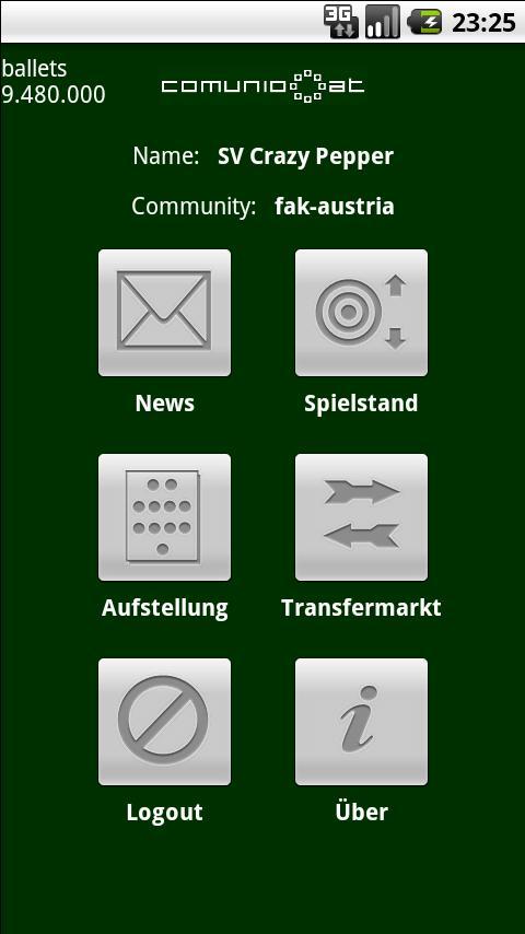 Comunio Android Sports Games