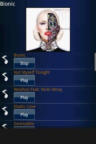 Christina Aguilera-[Bionic] Android Entertainment